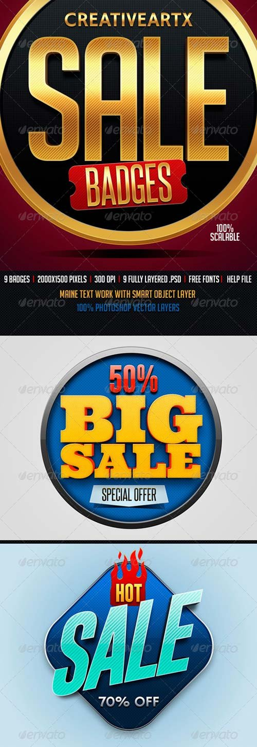GraphicRiver Sale Badges 2