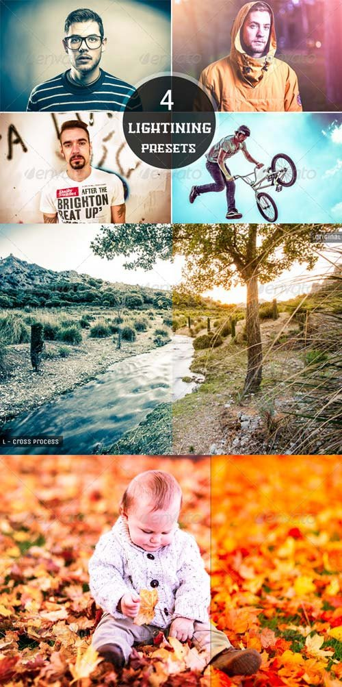 GraphicRiver 4 Lightning Presets
