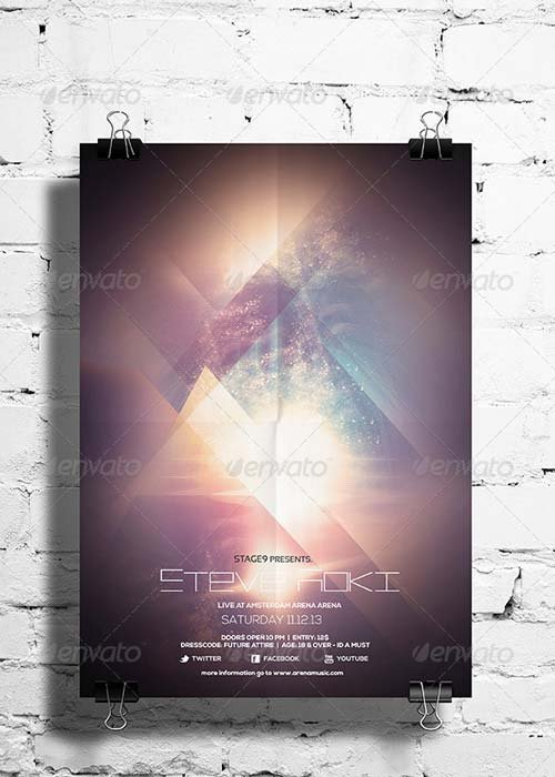 GraphicRiver Futuristic Flyer / Poster Vol. 01