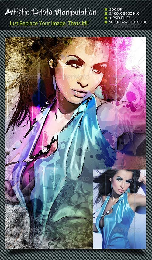 GraphicRiver Artistic Photo Manipulation 8545131