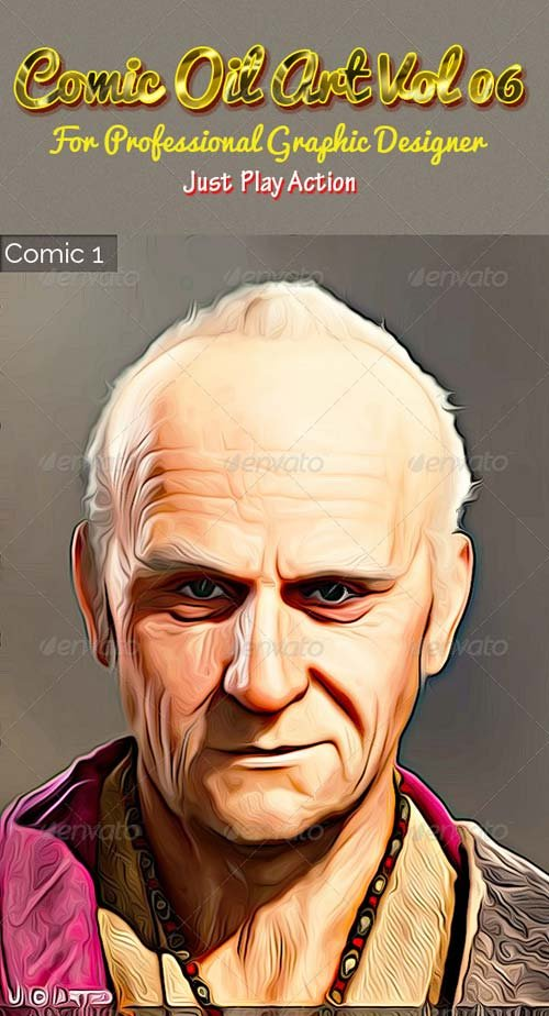 GraphicRiver Comic Oil Art Vol 06