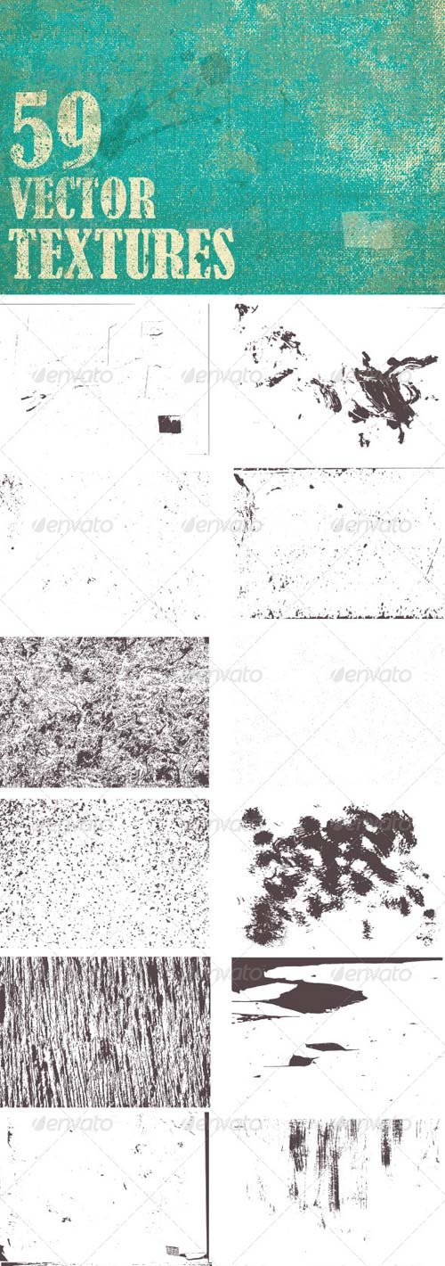 GraphicRiver Grunge Vector Textures