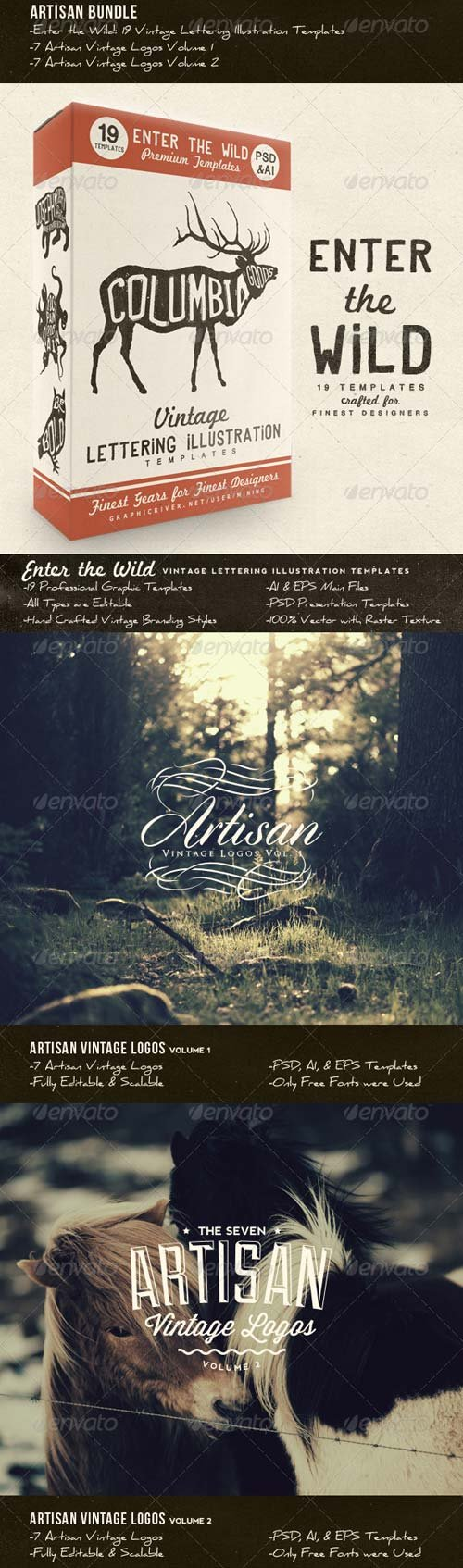 GraphicRiver Artisan Bundle