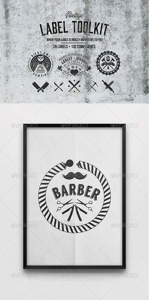 GraphicRiver Vintage label toolkit