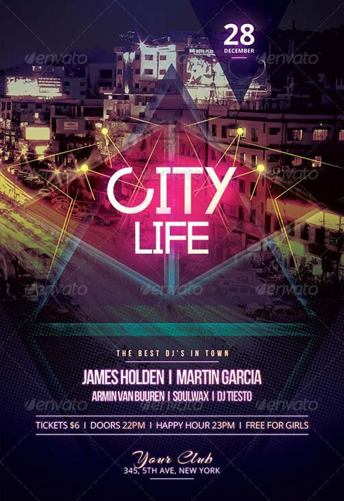 GraphicRiver City Life Flyer
