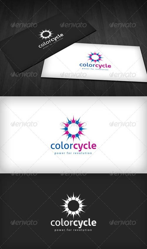 GraphicRiver Color Cycle Logo
