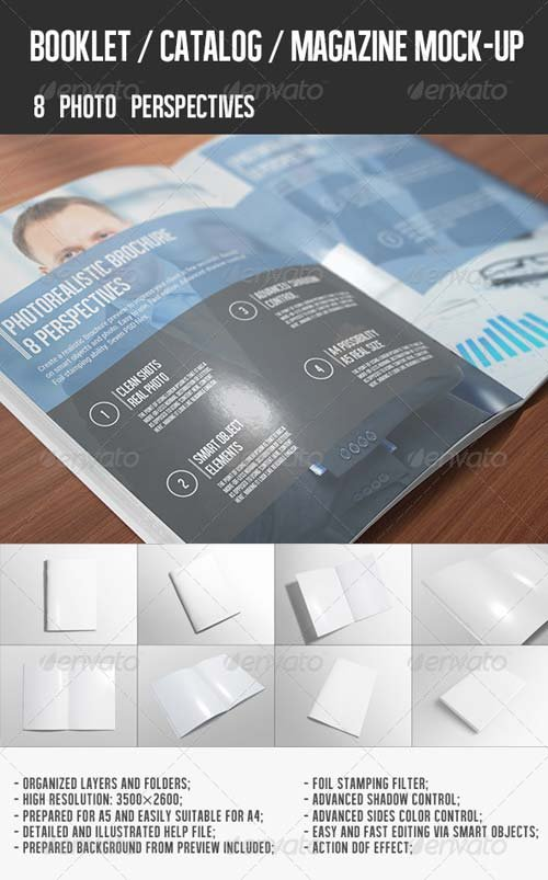 GraphicRiver Catalog / Magazine Mock-Up