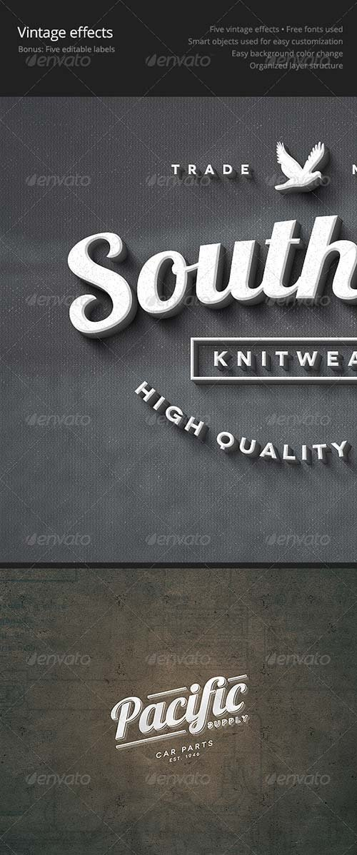 GraphicRiver Vintage Effects