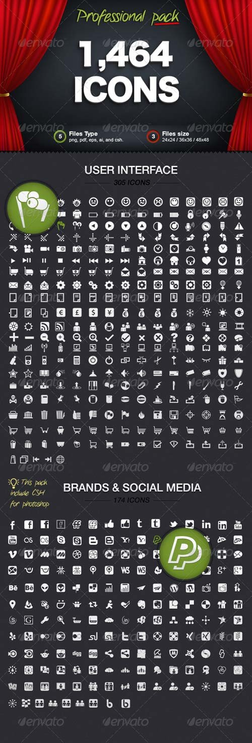 GraphicRiver Vectors Icons