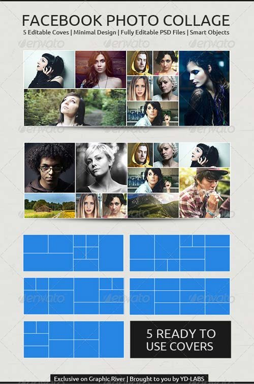 GraphicRiver FB Photo Collage