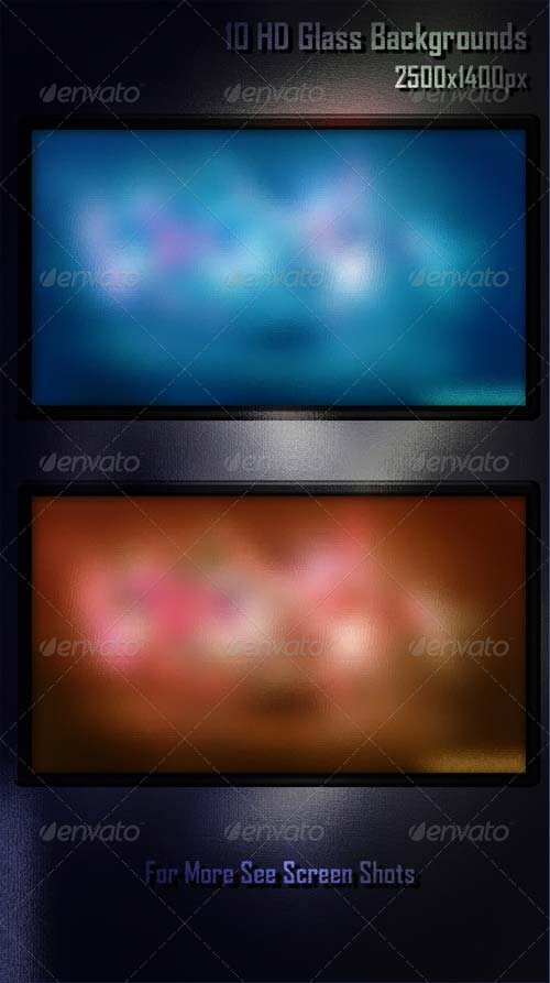 GraphicRiver 10 HD Glass Backgrounds