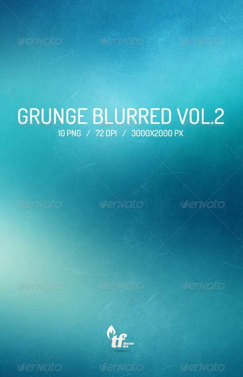 GraphicRiver 10 Grunge Blurred Backgrounds Vol.2