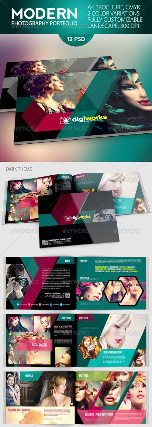 GraphicRiver Simple Photography Portfolio