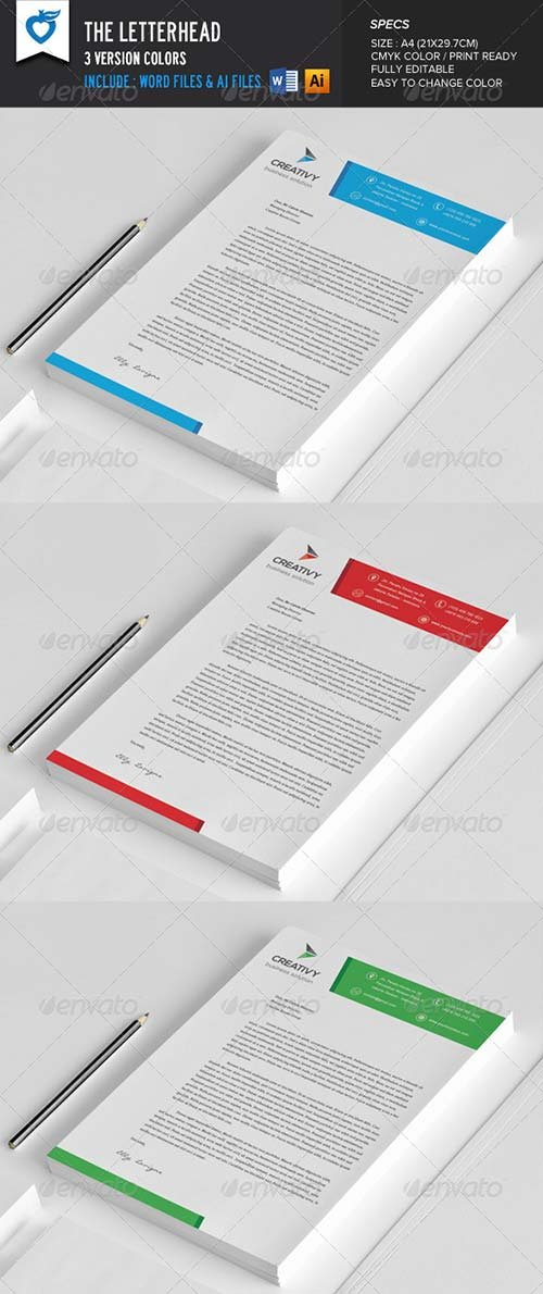 GraphicRiver The Letterhead
