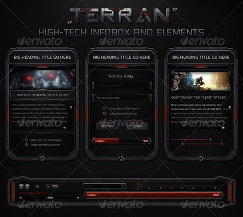 GraphicRiver Terran High-Tech Information Box