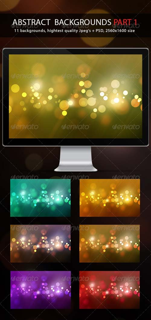 GraphicRiver Abstract Backgrounds Part 1