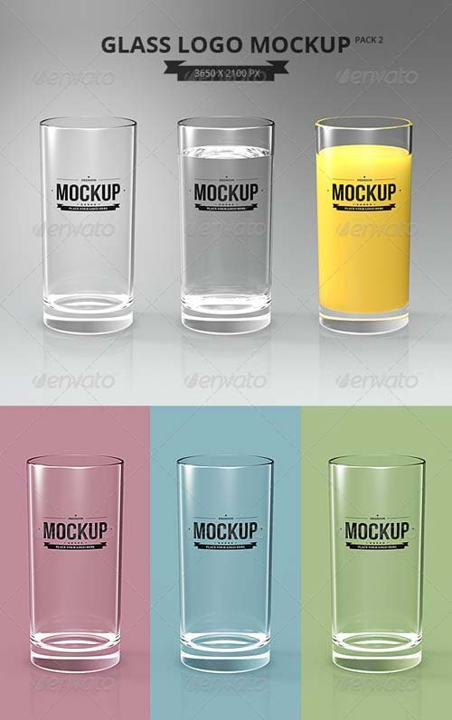GraphicRiver Glasses Logo Mockup Pack 2