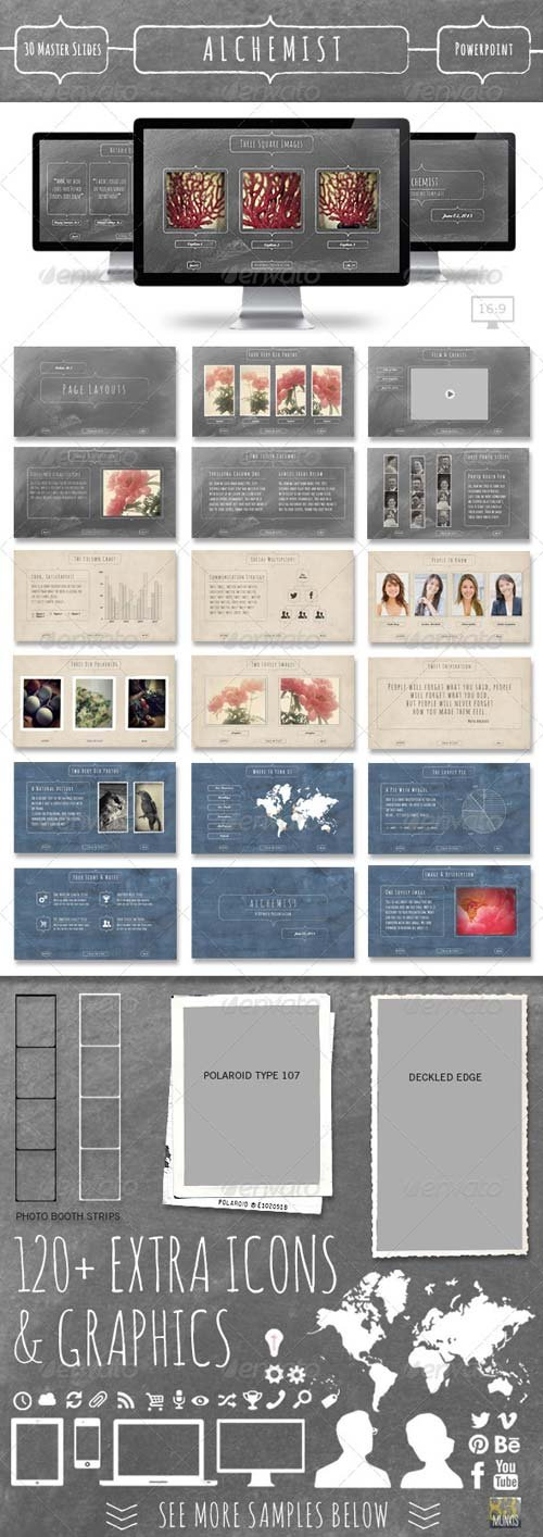 GraphicRiver Alchemist Powerpoint Template