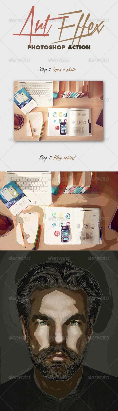GraphicRiver ArtEffex Photoshop Action