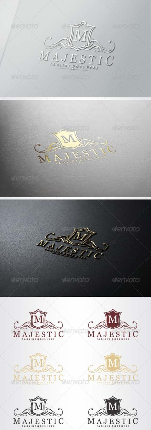 GraphicRiver Majestic Logo