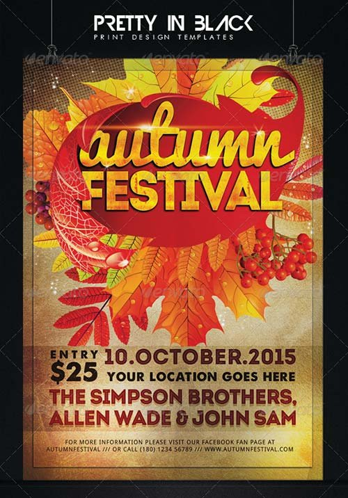 GraphicRiver Autumn Festival Flyer