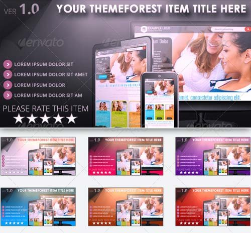 GraphicRiver ThemeForest Preview Generator
