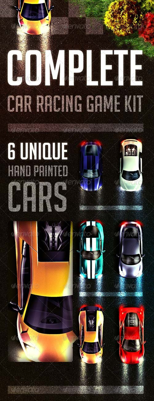 GraphicRiver Complete Car Racing Game Kit