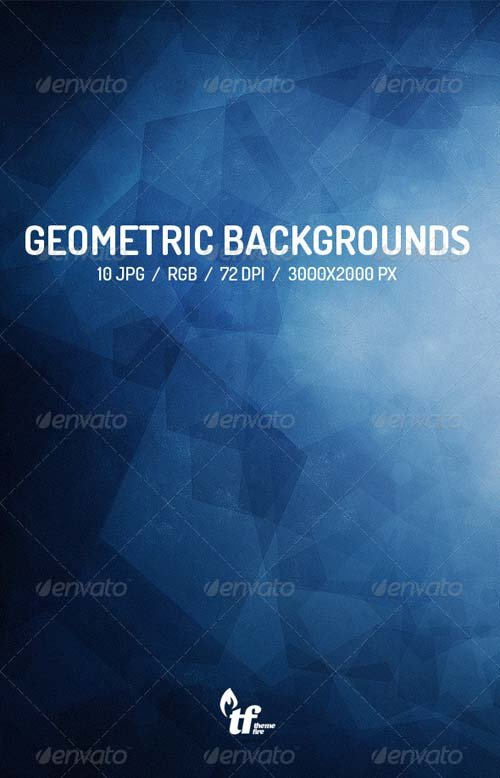 GraphicRiver 10 Abstract Geometric Backgrounds