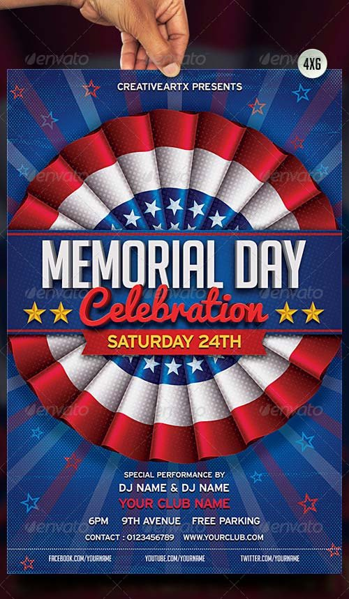 GraphicRiver Memorial Day