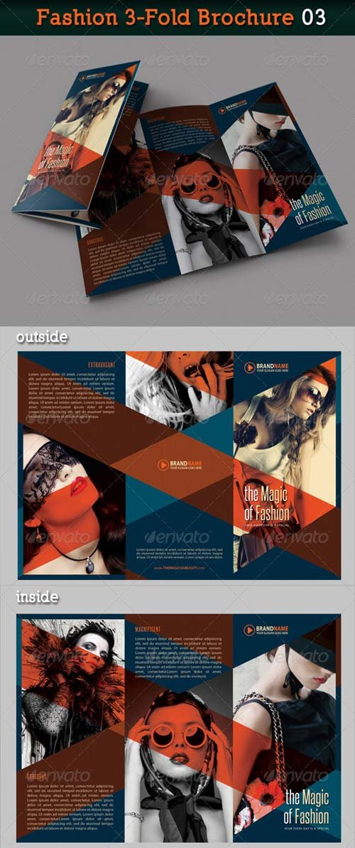 GraphicRiver Fashion 3-Fold Brochure 03