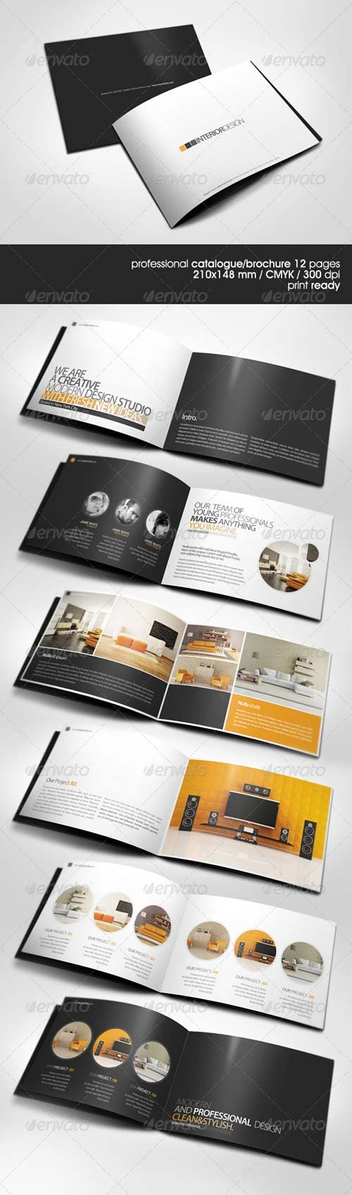 GraphicRiver Modern A5 Catalogue