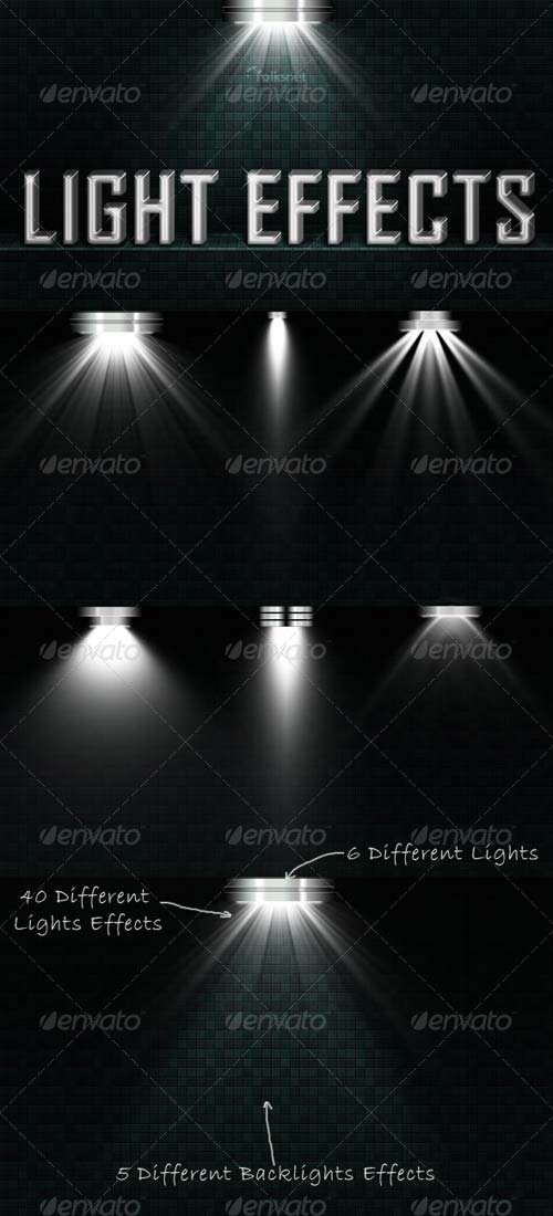GraphicRiver Light Effects Set 2