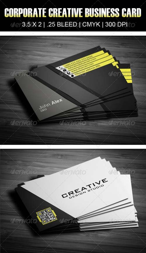 GraphicRiver Corporate Creative Business Card 10
