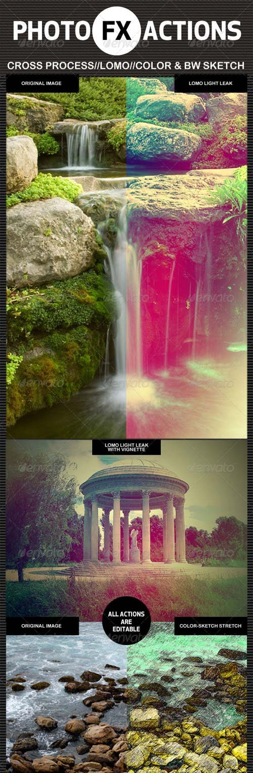 GraphicRiver Photo-FX-Actions