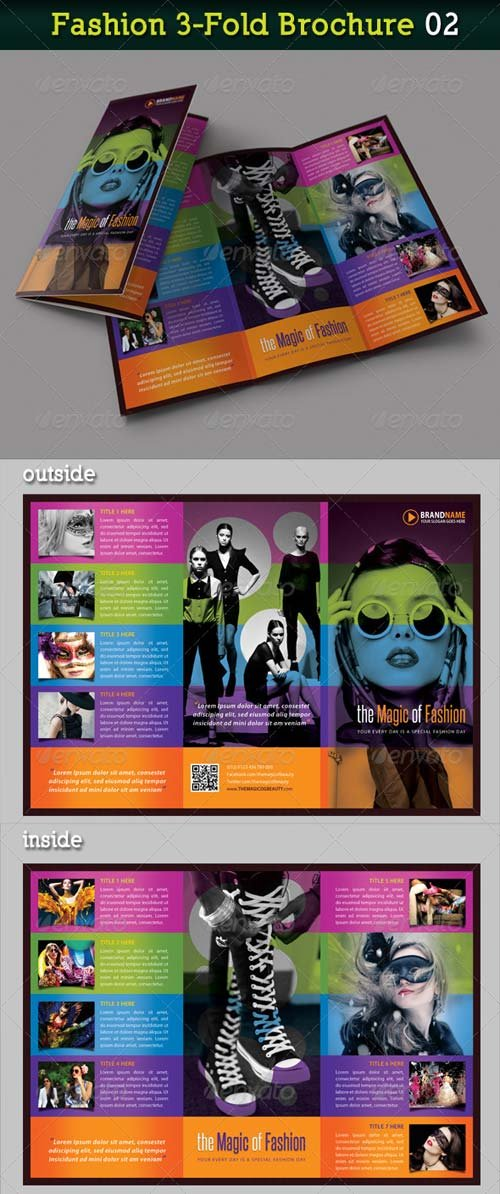 GraphicRiver Fashion 3-Fold Brochure 02
