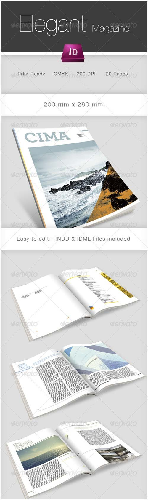 GraphicRiver Multipurpose Magazine Template 2494956