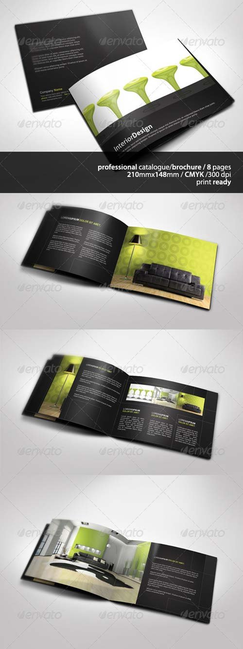 GraphicRiver A5 Brochure / Catalogue