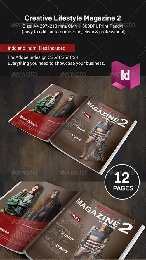GraphicRiver Creative Lifestyle Magazine II