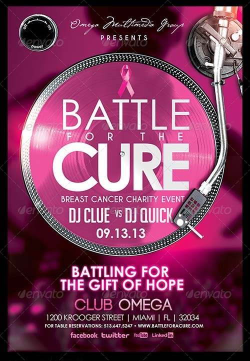 GraphicRiver Battle for a Cure