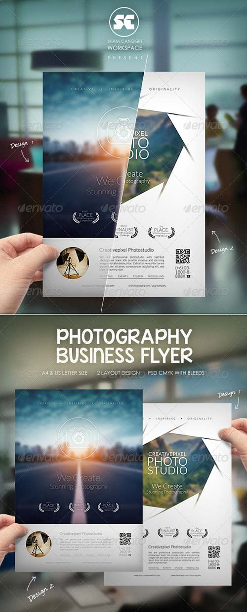 GraphicRiver Photography Business Flyer
