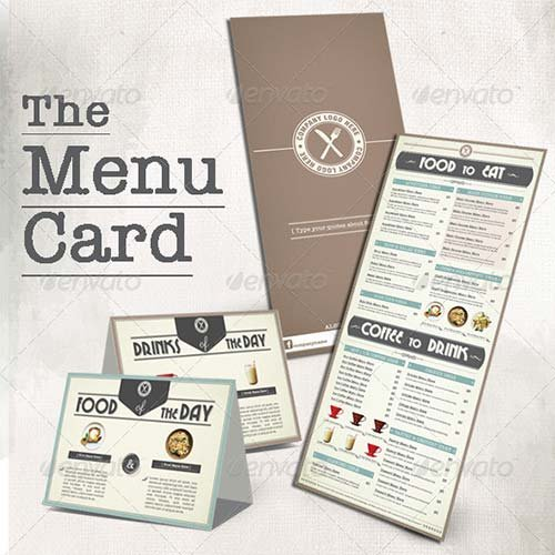 GraphicRiver Menu Book for Coffee Shop