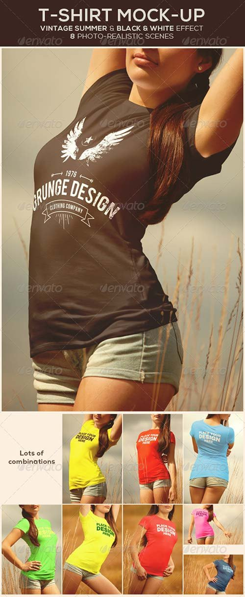 GraphicRiver T-Shirt Mock-Up 8753129