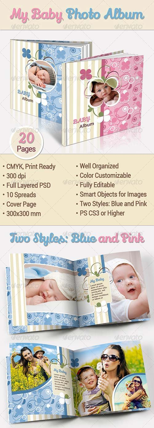 GraphicRiver My Baby Photo Album