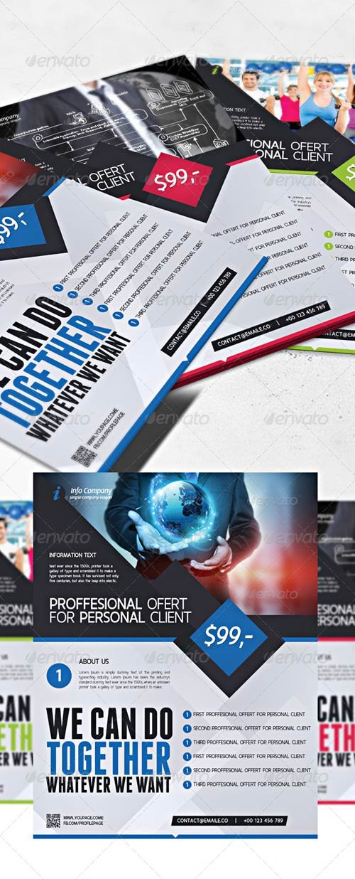 GraphicRiver Company Commerce Flyer