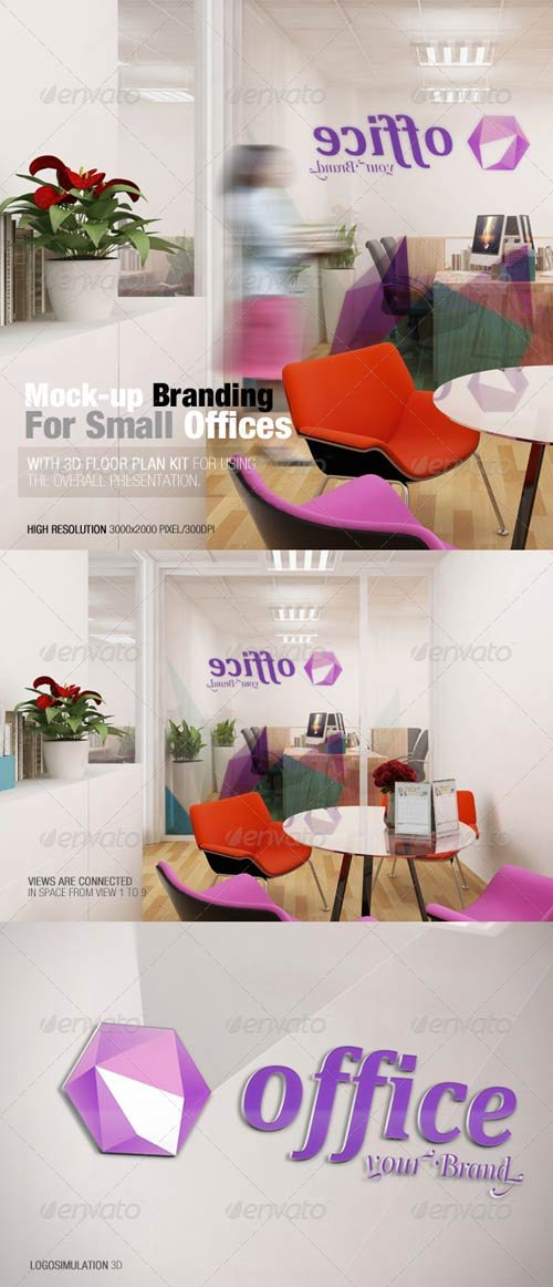 GraphicRiver Mockup Branding For Small Offices