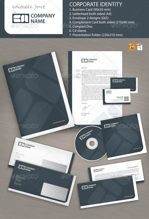 GraphicRiver Business Brand Corporate Identity