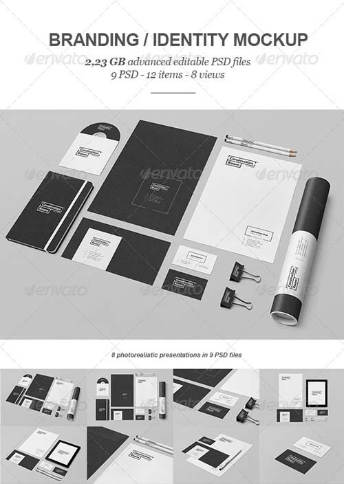 GraphicRiver Branding / Identity Mock-up V