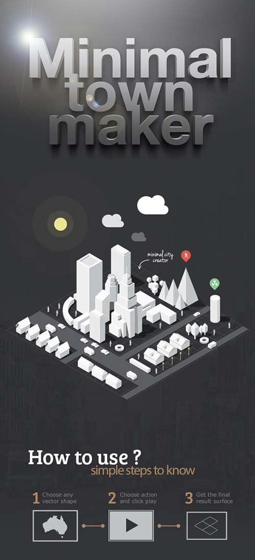 GraphicRiver Minimal Town Maker