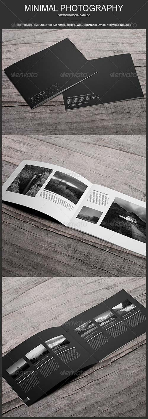 GraphicRiver Minimal Photography - Portfolio Book / Catalog