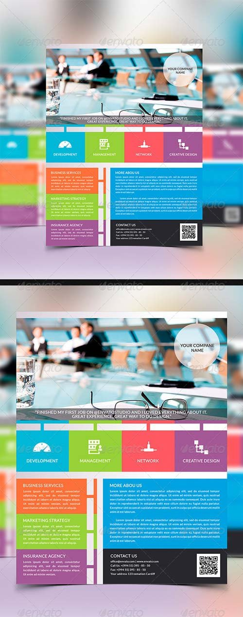 GraphicRiver Multipurpose Flyer Template 7679611
